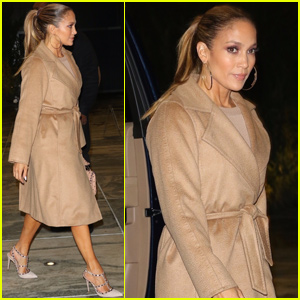 Jennifer Lopez Heads to a Late Night Meeting in NYC