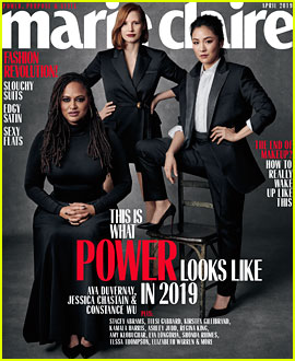 Jessica Chastain, Constance Wu, & Ava DuVernay Cover Marie Claire's 'Change Makers' Issue