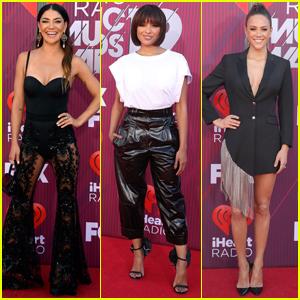 Jessica Szohr, Kat Graham, & Jana Kramer Go Glam for iHeartRadio Music Awards 2019