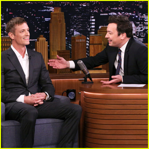Joel Kinnaman Teaches Jimmy Fallon Swedish Drinking Game Dance - Watch!