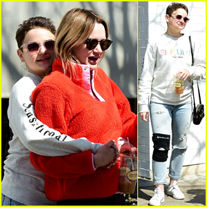 The Act's Joey King Enjoys Family Time at Lunch!