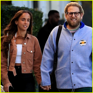 Jonah Hill Holds Hands with Girlfriend Gianna Santos in Beverly Hills