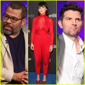 Jordan Peele Joins Ginnifer Goodwin & Adam Scott on 'The Twilight Zone' Reboot Panel at PaleyFest 2019!