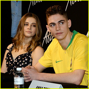'After' Stars Meet the Press in Brazil During World Tour!