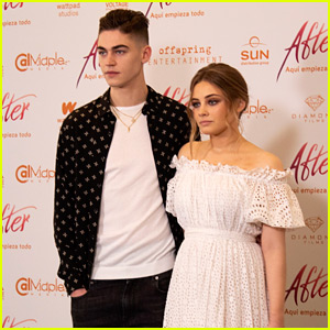 Josephine Langford & Hero Fiennes Tiffin Kick Off 'After' World Tour in Mexico!