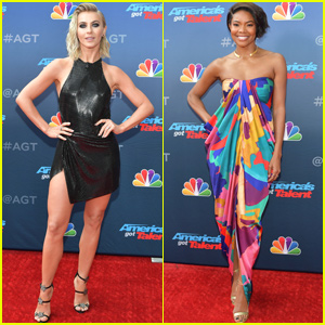 Julianne Hough & Gabrielle Union Kick Off 'America's Got Talent' Season 14!