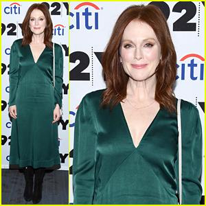Julianne Moore Dons Jade Green Dress for 'Gloria Bell' Screening