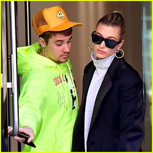 Justin Bieber Gets the Door for Hailey While Stepping Out in NYC