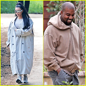 Kim Kardashian & Kanye West Join Their Family for a Sunday Church Service