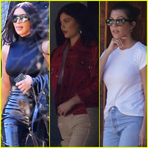 Kardashian-Jenners Attend Kanye West's Church Service in L.A.