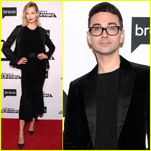 Karlie Kloss & Christian Siriano Step Out for 'Project Runway' Premiere!