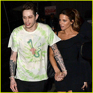 Pete Davidson & Kate Beckinsale Hold Hands on Date Night!