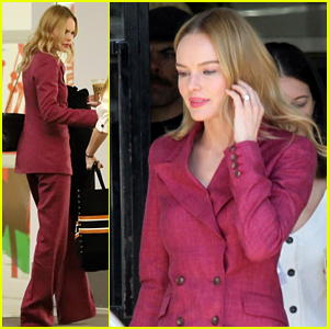 Kate Bosworth Is Feeling Powerful in This Suit!