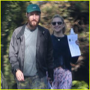 Kate Hudson & Danny Fujikawa Go House Hunting in the Pacific Palisades