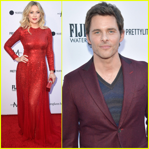 Kate Hudson Joins James Marsden at Daily Front Row Fashion Awards 2019