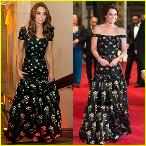 Kate Middleton Reworks a 2017 Look for Portrait Gala in London