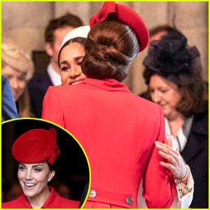 Kate Middleton & Meghan Markle Look Friendly, Greet Each Other Happily in New Photos!