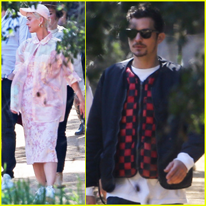 Katy Perry & Orlando Bloom Step Out for Kanye West's Church Service