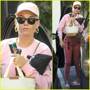 Katy Perry Goes Sporty While Running Errands in L.A.