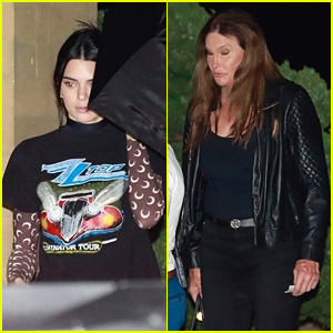 Kendall & Caitlyn Jenner Grab Dinner at Nobu After Caitlyn's Trip to Greece