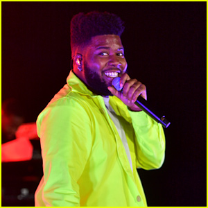 Khalid Gets Support From Katherine McNamara & Luke Baines at Spotify Concert
