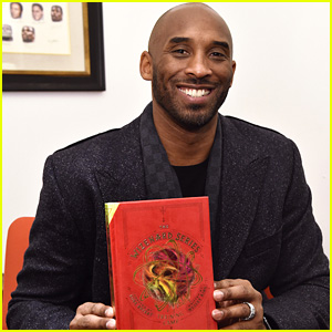 Kobe Bryant Visits NBA Store in NYC to Celebrate His New Book 'The Wizenard Series: Training Camp'!