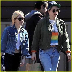 Kristen Stewart Spotted On a Grocery Run with Sara Dinkin
