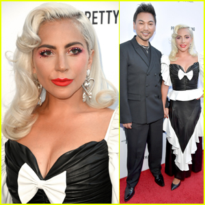 Lady Gaga Honors Hairstylist Frederic Aspiras at Daily Front Row Awards 2019