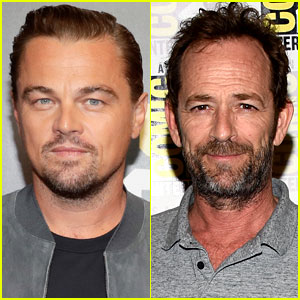 Leonardo DiCaprio Pays Tribute to Luke Perry, His 'Once Upon a Time in Hollywood' Co-Star