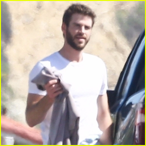 Liam Hemsworth Catches Some Waves in Malibu