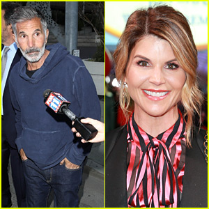 Lori Loughlin's Husband Mossimo Giannulli Released from Custody, Pictured Leaving Court