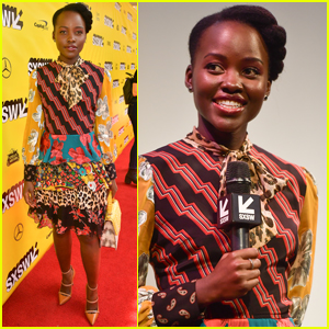 Lupita Nyong'o Promotes 'Little Monsters' at SXSW