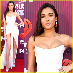Madison Beer Goes Strapless at the iHeartRadio Music Awards 2019