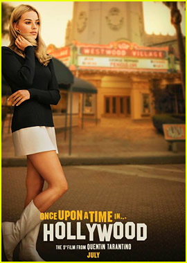 Margot Robbie as Sharon Tate in 'Once Upon a Time in Hollywood' - See the Poster!