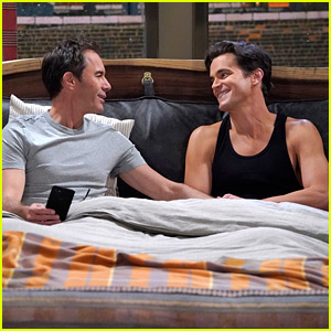 Matt Bomer Puts His Toned Arms on Display on 'Will & Grace'