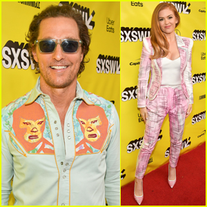 Matthew McConaughey & Isla Fisher Premiere 'The Beach Bum' at SXSW