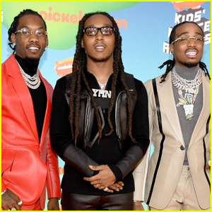 The Guys of Migos Step Out for Kids' Choice Awards 2019!