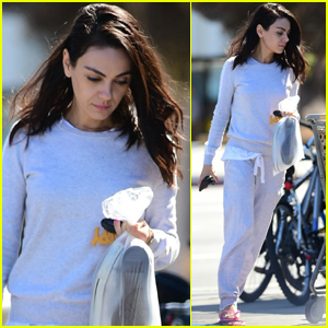 Mila Kunis Enjoys a Day of Pampering in Studio City