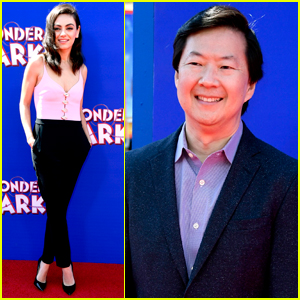 Mila Kunis & Ken Jeong Premiere 'Wonder Park' in L.A.