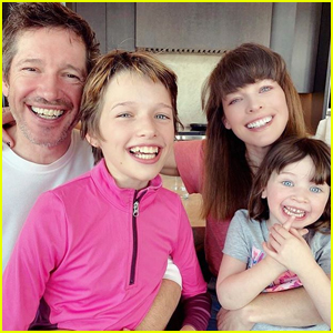 Milla Jovovich Posts Family Photo for Husband Paul W.S. Anderson's Birthday!