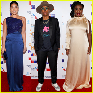 Gina Rodriguez, Lena Waithe, Uzo Aduba, & More Attend NAACP Image Awards Dinner