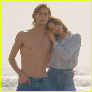 Hailey Clauson & Neels Visser Star in Sexy Campaign for Rolla's