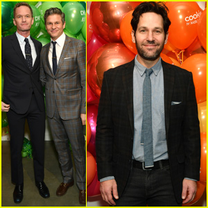 Neil Patrick Harris & Paul Rudd Support Chefs For Kids' Cancer Research!