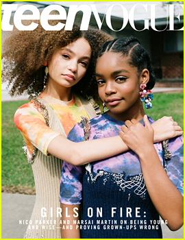 Nico Parker & Marsai Martin Open Up About Self-Confidence as Young Hollywood Stars