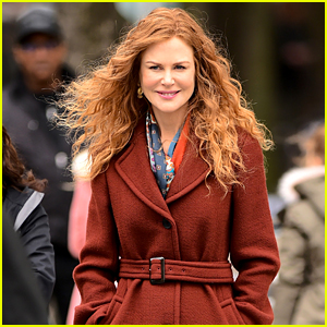 Nicole Kidman Continues Filming 'The Undoing' in NYC!
