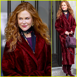 Nicole Kidman Films HBO Series 'The Undoing' in New York City