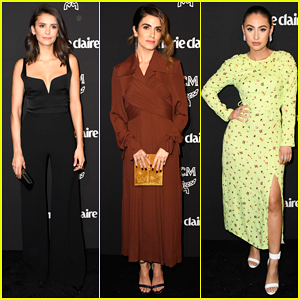 Nina Dobrev, Nikki Reed & Francia Raisa Step Out for Marie Claire's Change Makers Event!