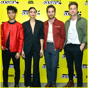 Nina Dobrev, Scott Speedman, Ben Platt & Mena Massoud 'Run This Town' at SXSW