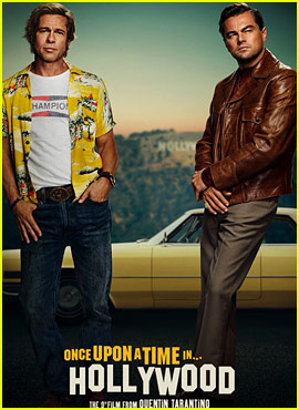 Leonardo DiCaprio & Brad Pitt's 'Once Upon a Time in Hollywood' Poster Released!