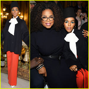 Oprah Winfrey Joins Janelle Monae & More Front Row at Stella McCartney Paris Show!